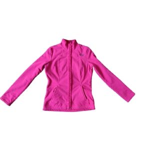 The North Face Fleece Sherpa Zip Up Sweater Pink S